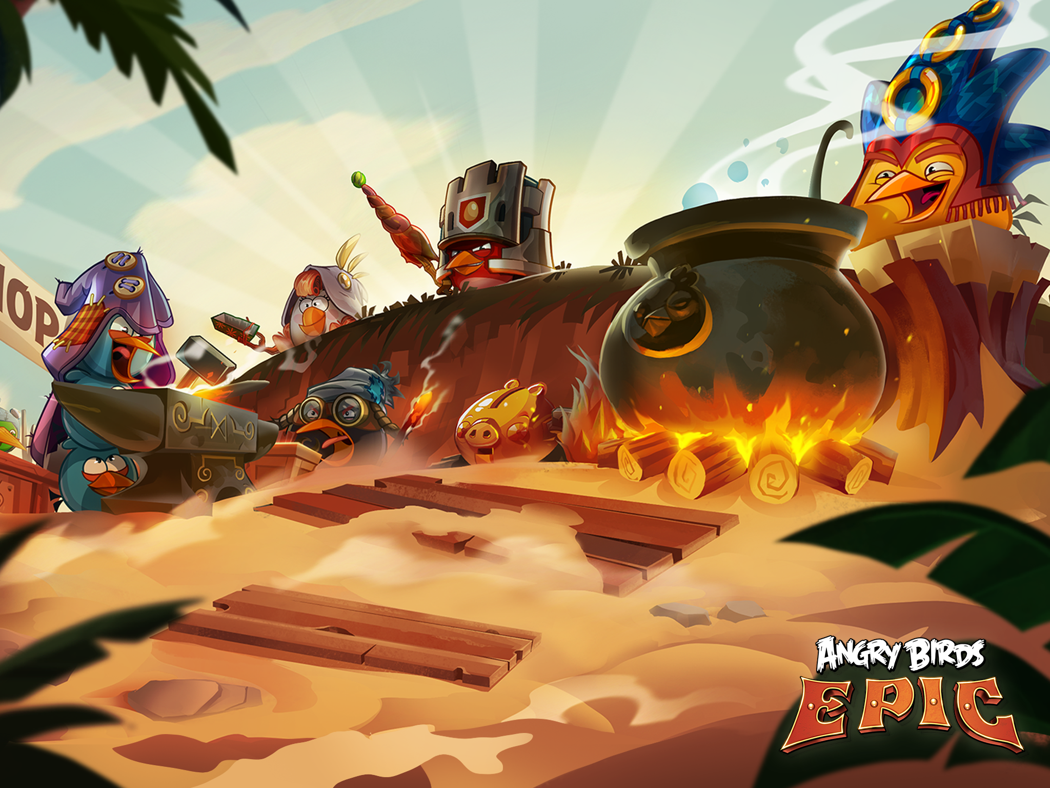 chimera entertainment home | angry birds epic wallpaper